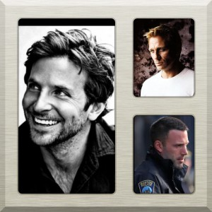 Bradley Cooper, Daniel Craig & Ben Affleck