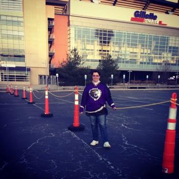 Me outside Gilette Stadium