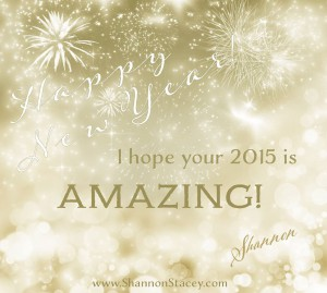 I hope your 2015 is amazing!