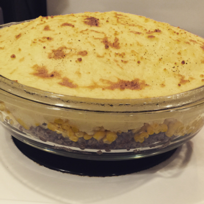 A big shepherd's pie