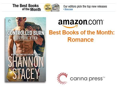 Best Books of the Month Romance ad