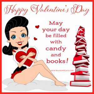 May your day be filled with candy and books!