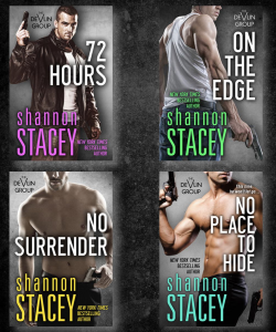 The four Devlin Group book covers