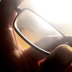 Scuffed eyeglasses